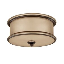 Park Place 2 Light Flush Mount