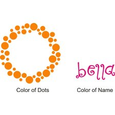 Bella's Dots Wall Decal