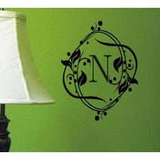 Berry Monogram Wall Decal