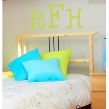 Cutie Monogram Wall Decal