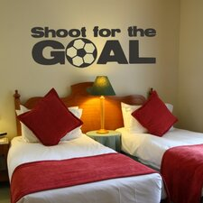 Shoot for the Goal Wall Decal