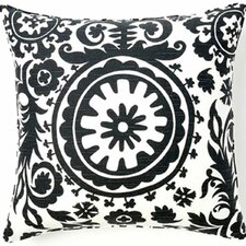 Suzani African Square Cotton Pillow