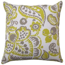 Garden Stripes Polyester Pillow
