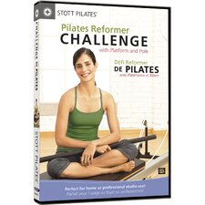 Pilates Reformer Challenge with Platform and Pole DVD