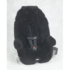 Custom Sheepskin Convertible Car Seat Cover