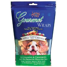 Gourmet Premium Meat Snack Wrap Dog Treat