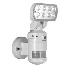 Motion Tracking LED Security Floodlight with Camera