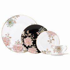 Painted Camellia Dinnerware Set