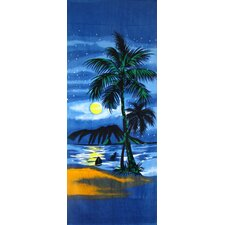 Summer Night Beach Towel