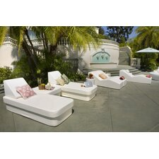 Resort Daybed with Lean Headboard Bolster