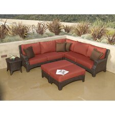 Santa Barbara Sectional Sofa with Cushions