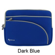 "Triple Pocket Neoprene Sleeve Invisible Zipper Case for 11.6"" Netbook"