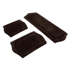 Paradise Memory Foam Bath Rug (Set of 3)
