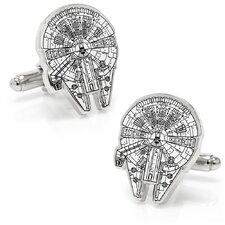 Millennium Falcon Ship Blueprint Cufflinks