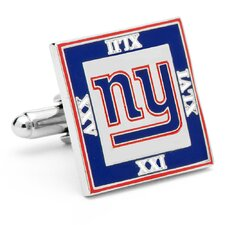 2012 New York Giants Super Bowl Cufflinks