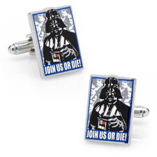 Star Wars Join Us Or Die Propaganda Poster Cufflinks