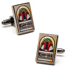 Vintage Star Wars Episode 5 Movie Poster Cufflinks