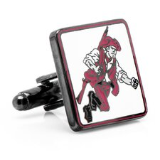 NCAA University of Massachusetts Minuteman Cufflinks