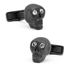 Gemstone Skull Cufflinks