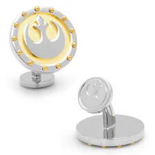 Star Wars Rhodium Plated Rebel Steampunk Cufflinks
