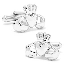 Irish Claddagh Cufflinks