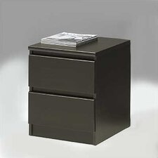 Naia 2 Drawer Nightstand