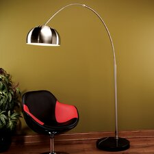 Arch Floor Lamp in Chrome
