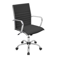Master High-Back Leatherette Office Chair