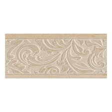 "Brixton 9"" x 4"" Decorative Wall Accent Tile in Sand"