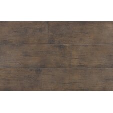 "Timber Glen 8"" x 24"" Rustic Field Tile in Espresso"