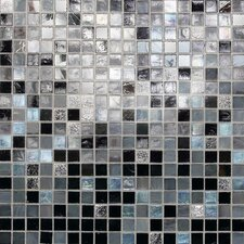 "City Lights 12"" x 12"" Mosaic Blend Field Tile in Manhattan"