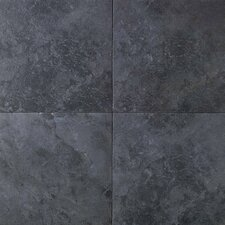 "Continental Slate 18"" x 12"" Field Tile in Asian Black"