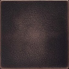 "Ion Metals 4-1/4"" x 4-1/4"" Field Tile in Oil Rubbed Bronze"