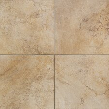 "Florenza 18"" x 18"" Plain Floor Tile in Oliva"