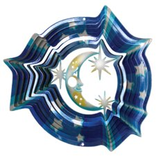 Designer Moon and Stars Wind Spinner