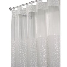 EVA Vinyl Stone Print Long Shower Curtain