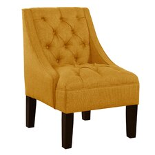 Tufted Swoop Armchair