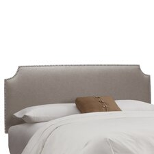 Nail Button Linen Upholstered Headboard