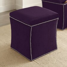 Elgin Nail Button Storage Ottoman