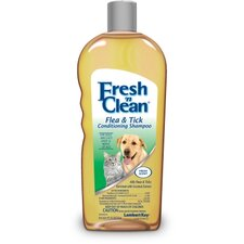 18 Ounces Fresh N Clean Flea and Tick Shampoo- New Formula
