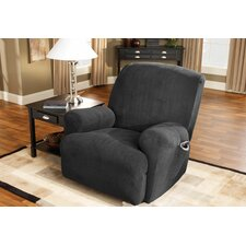 Stretch Pique Recliner T-Cushion Slipcover