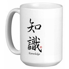 Chinese Stylish Calligraphy Knowledge 15 oz. Coffee / Tea Mug