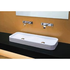 East Dual-Drain Vessel Bathroom Sink