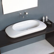 Crescent Vessel Bathroom Sink