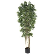 "72"" Silk Bamboo Japanica Tree in Natural"