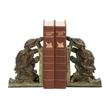 Turtle Tower Bookends (Set of 2)