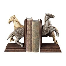 Knights Horse Bookends