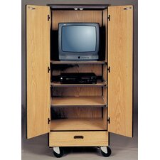 1000 Series Video Center Mobile Cabinet