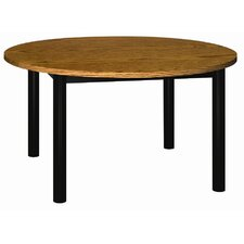 Round Glacier Library Table