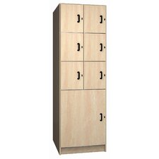 Solid HPL Door Music Storage: 7 Compartments